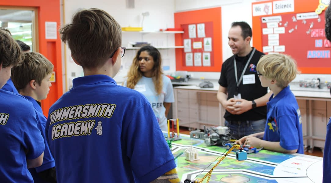 The WCIT Charity supports Hammersmith Academy as a strategic partner